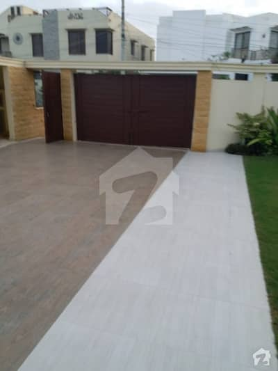 Brand New 1000 Sq. Yard 2 Unit Bungalow Is Available For Sale In DHA Phase 8 Karachi