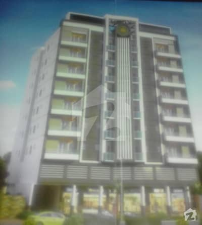 Flats Available For Sale Om Easy Installment Almdar Chowk Near Jazab Hieghtmain Nasim Nagar Road