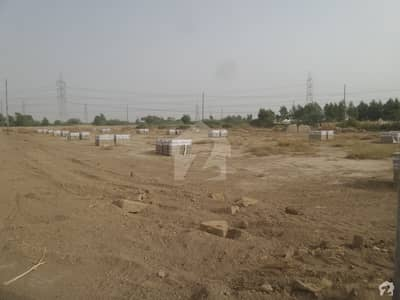 Ahsan Garden And Ahsan Grand City Block B West Open Transfer  120 Sq Yard Plot For Sale