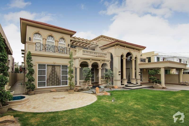 2 Kanal Brand New Full Furnished Faisal Rasool Design Spanish Villa For Sale Phase 1 DHA Defence Lahore