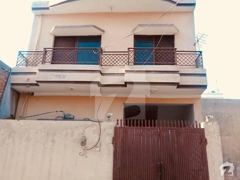Double Storey House Near Air Port Main Road