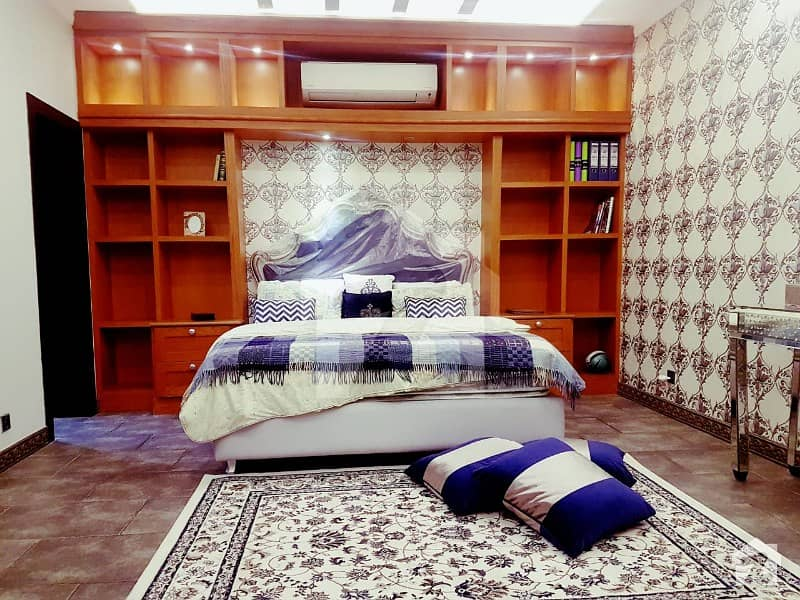 Royal Design Park View 42 Marla Brand New Full Furnished Spanish Bungalow For Sale In Dha Phase 8