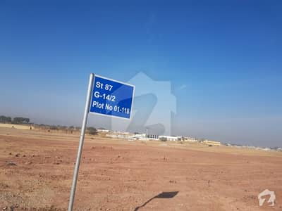 Ideally Located 40x80 Plot In Sector G142 Islamabad