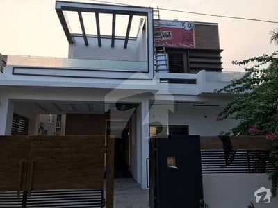 10 Marla Beautiful House With Basement Facing Park In Dha Phase 8