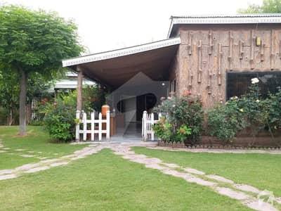 40 Kanal Farm House Is Available For Sale On Simli Dam Road Near Army Unit Bara Khuh