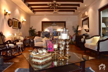 Raees Faheem Designed Fully Furnished 1 Kanal Bungalow At 70 Ft Road Facing Emporium Mall Plus Park