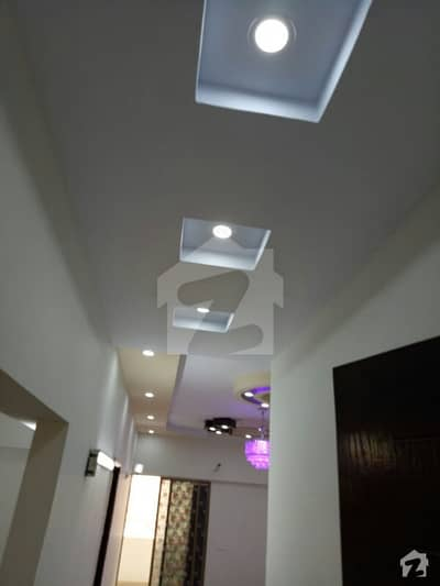 Flat For Sale In Harmain Royal Residency Block 1 Having 3 Bed D/D On 9th Floor