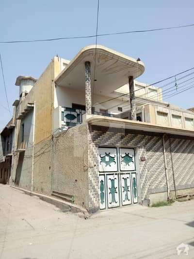 8 Marla Double Storey Corner House For Sale