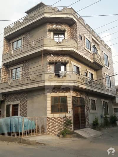 4. 75 Marla Four Storey Corner House For Sale