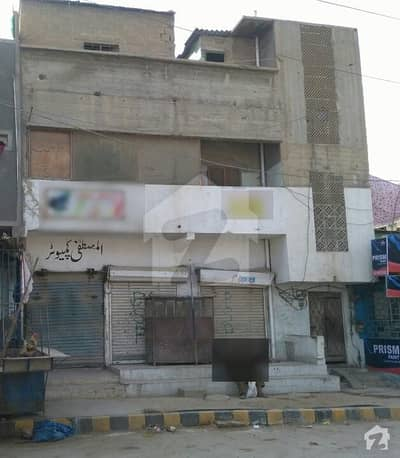 House For Sale Main Road With 3 Shops