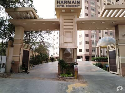Brand New Boundary Wall Project Harmain Royal Residency 3 beds Apartment For Sale