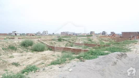 Commercial Plot Is Available For Sale In Pak Arab Society Phase 2 - Block F1