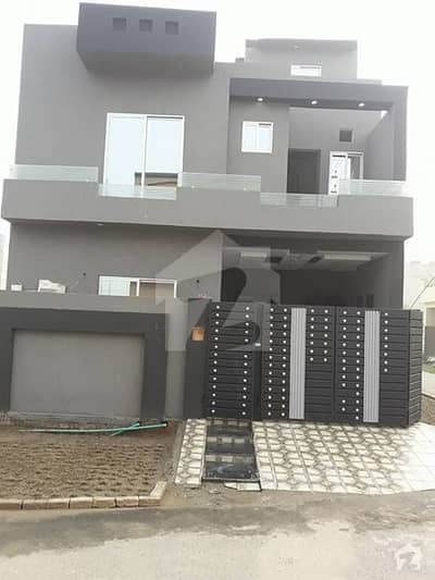 5 Marla Corner House Is Up For Sale In Canal Garden  Block A