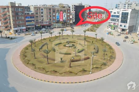 Most Prime Location Boulevard Corner Commercial Plot For Sale In Civic Center Bahria Town Rawalpindi