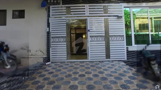 8 Marla Triple Storey House With 2 Gates In 2 Streets Is For Sale In B Block - Satellite Town Rawalpindi