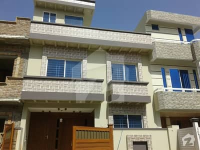 G-13 - 25x40 4 Marla Double Storey House With 4 Bedrooms With Attach Bathroom