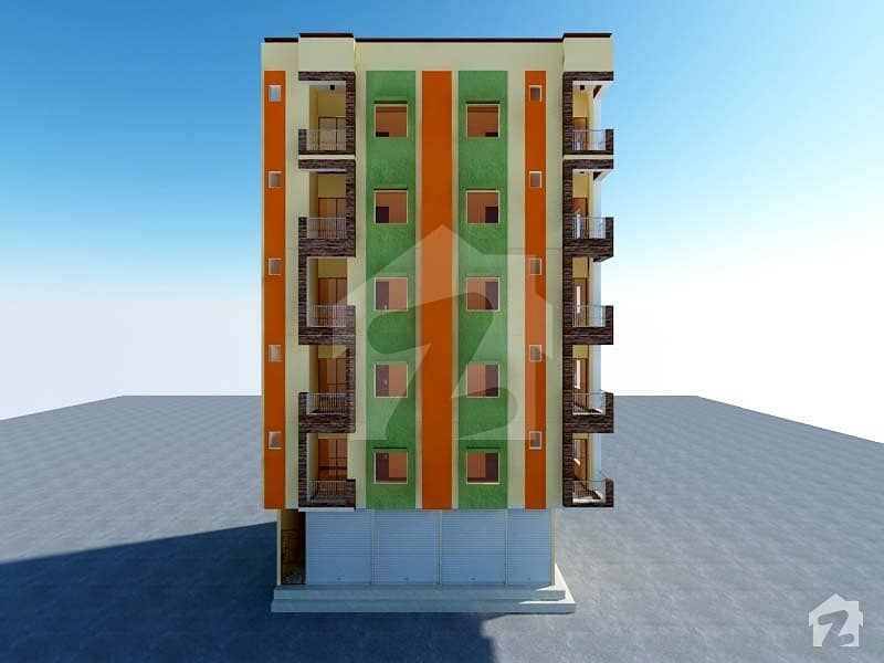 Flat Is Available For Booking In P  T Colony Karachi