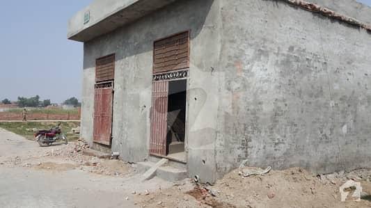 Corner 2 Marla single storey house
