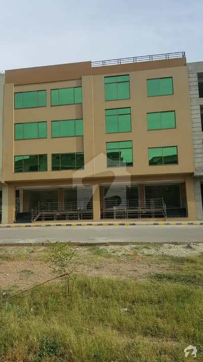 10 Marla Brand New Commercial Building Available For Sale In Wallayat Complex Bahria Town