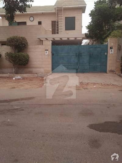 Demolish  Bungalow Is Available For Sale In Dastagir  Block 9  Karachi