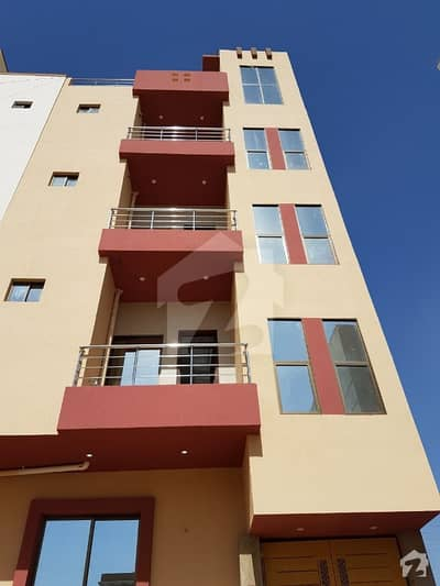 Brand New One Bed Lounge West Open Flat Available For Sale Liaquatabad