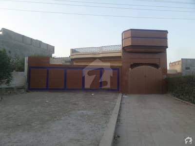 Single Storey Beautiful Banglow For Sale At Benazir Road, Okara