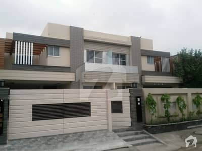 Revenue Society 17 Marla Pair Brand New Double Storey Out Class Bungalow Is Available For Sale Ideal For Tow Brother