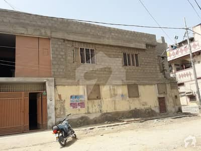 3 Side Corner Commercial Plot With Construction Available for sale at Manzoor Colony