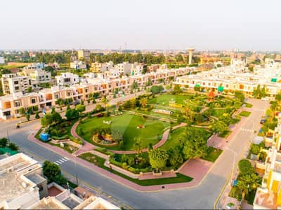 21 Marla Facing Park Plot Is Available For Sale