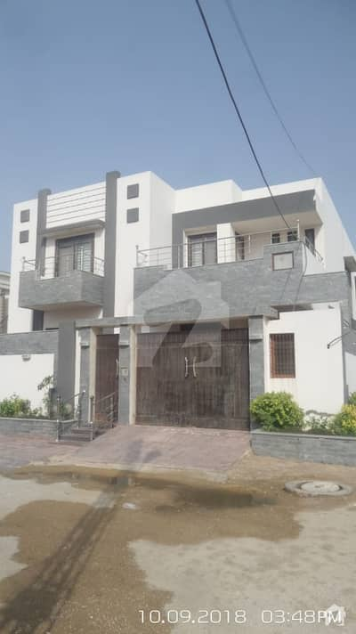 Double Storey Bungalow Available For Sale