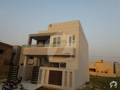 5 Marla Brand New House For Sale On Main 50 Feet Road Near Mosque Park