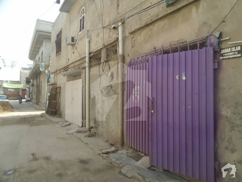 Best oppertunity for investment 5 Marla Double Sotrey Semi Commercial House Available For Sale