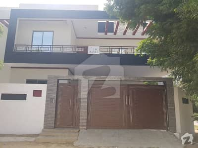 400 Square Yards New Constructed Ground + 1 Floor Corner Bungalow For Sale