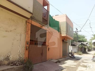 10 Marla Double Storwy House With Five Shops