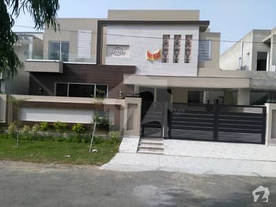 Valencia town brand new 1Kanal pair designer luxurious Bungalow is available for sale ideal for two brother