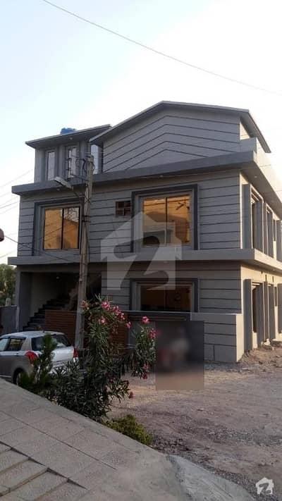 5 Marla Corner Brand New House For Sale