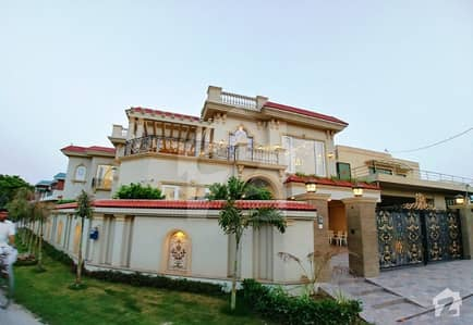 27 Marla Corner Brand New Beautiful Spanish Bungalow For Sale In Dha Phase 3 Outclass Location