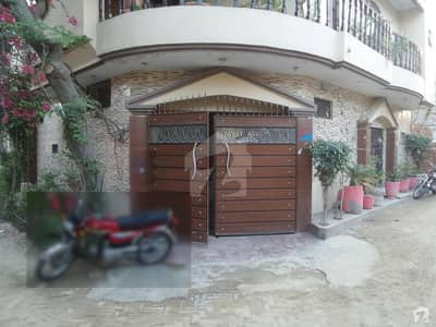 Double Storey Beautiful Corner House For Sale At Latif Abad, Okara