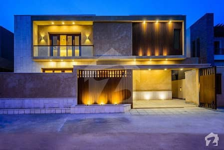 Elegant Design 600 yards Artistic Villa with Basement