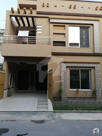 Near to Main Boulevard and Commercial Market 4 Marla Double Unit Brand new Beautiful House for Sale
