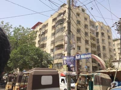 Rufi Haven 4th Floor 1500 Sqft Flat Is Up For Sale In Gulshane Iqbal Block 13D2