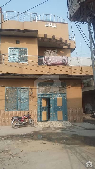 4 Marla double story corner house for sale in gujah pir lahore
