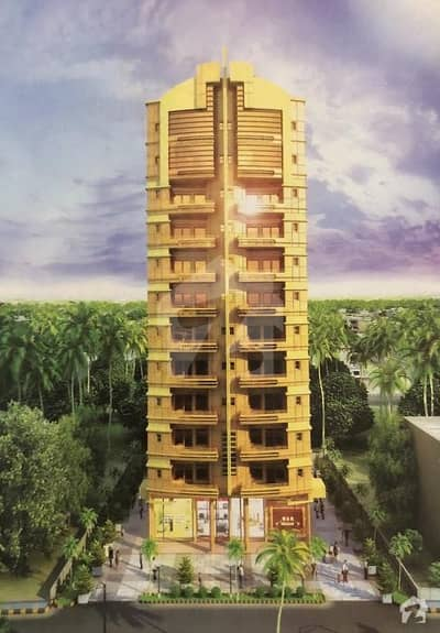 Golden Towers At Ayesha Manzil 3 Bed D/D  Flat