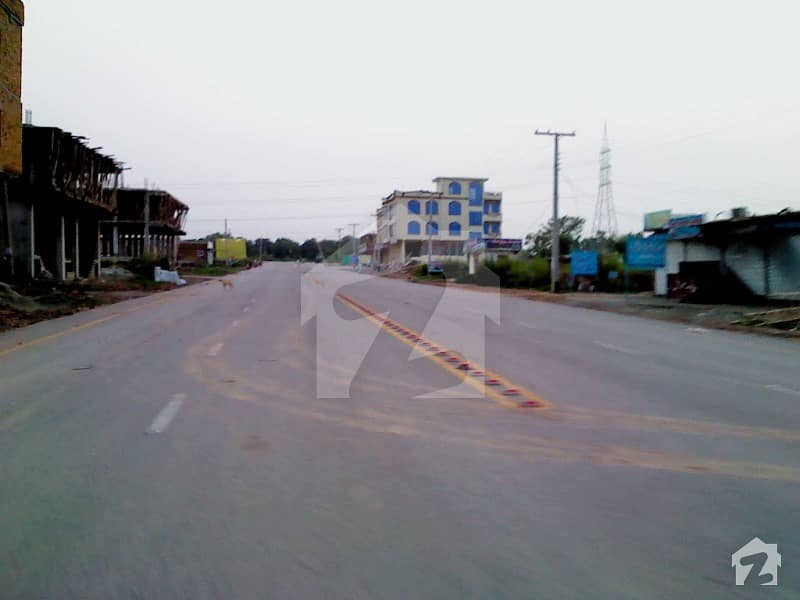 Size 1 Kanal 4 Storey Marriage Hall Plaza For Sale On Main Service Road Near To Khana Pul Islamabad Highway View