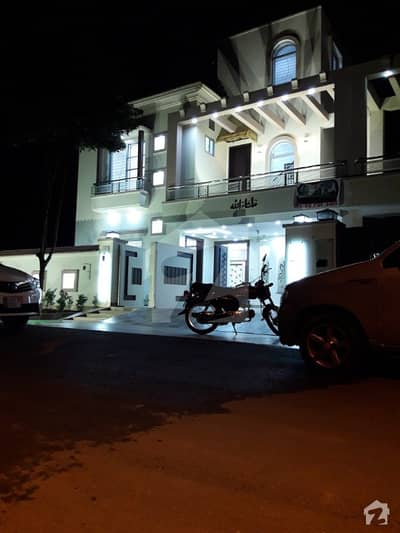 8  marla brand new house at vip location of bahria town lahore