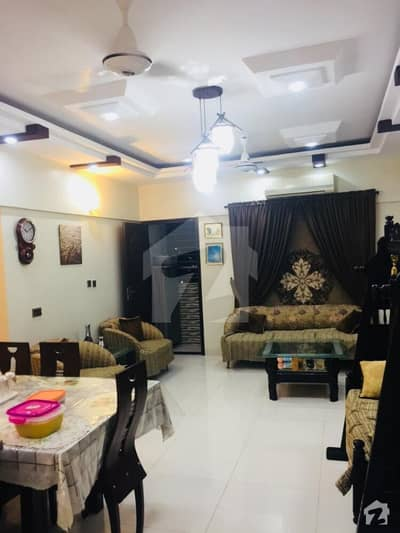 Luxury Apartment For Sale With Penthouses 3 Bed Drawing Lounge Lift 1 Car Parking Cctv Prime Location Tariq Road Karachi
