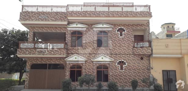 New Build Double Storey Corner House Is Available For Sale On Main Road Janjua Market