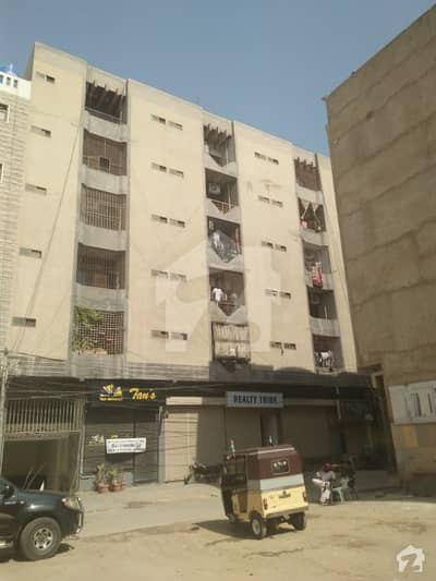 Nishat Commercial Big Apartment For Sale With Lift Generator Basement Parking
