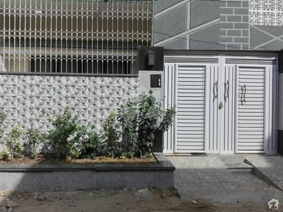 Full Renovated West Open Ground+1 House Available For Sale In North Karachi Sector 8