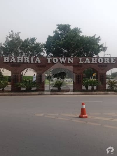 8 Marla Plot For Sale In Umer Block Bahria Town